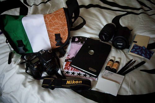 What's in my bag - 5/5/09