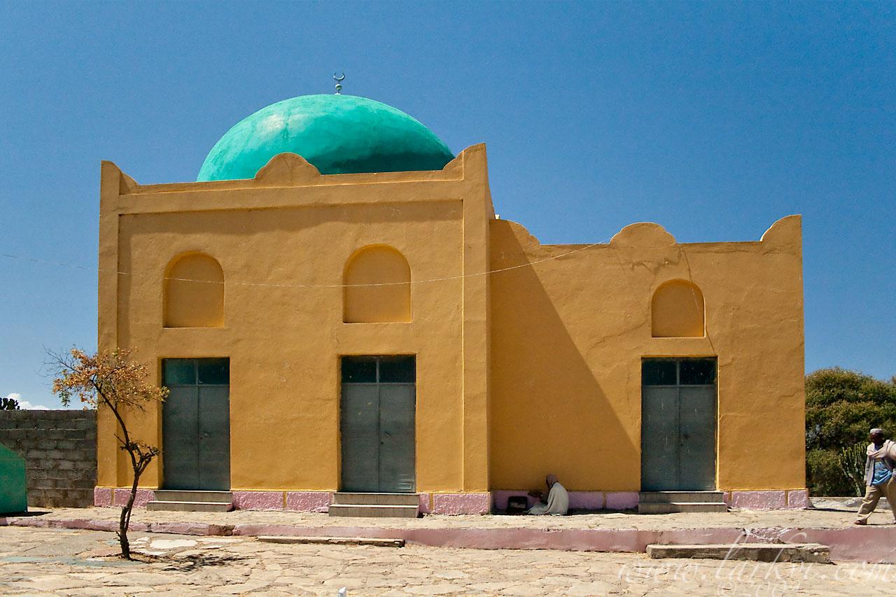 Mosque, Negash, Tigray, Ethiopia, April 2009