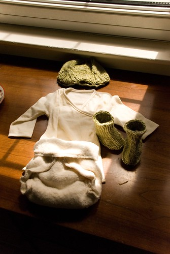 baby's first clothes