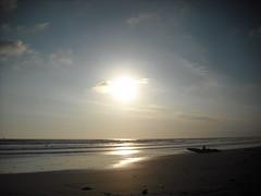 Sun is starting to set, Playa Carmen