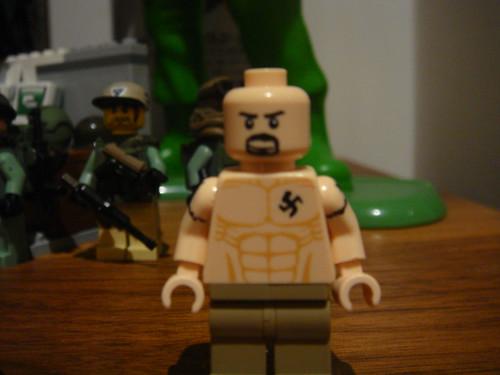 Lego American History X custom minifig