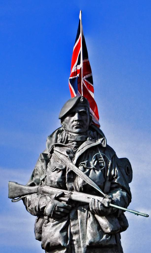 Royal Marine Museum Statue Colour
