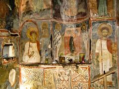 Panagia Eleoussa (Vasilis Manthos) Tags: church spring cave florina prespes      vasilesmanthos  panagiaeleoussa
