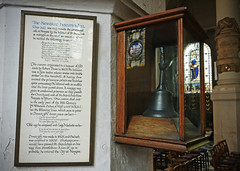 Newgate Execution Bell - Church of St Sepulchre Without - London (nick.garrod) Tags: old city london history church st bell
