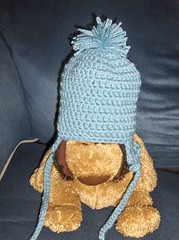 Boys Hat (ruali) Tags: blue boy cute hat soft crochet yarn ruali