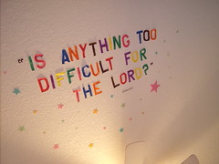 Nope nope... (honeymuffler) Tags: light true wonderful paper stars fan words cool rainbow god sweet quote awesome ceiling glowinthedark multicolor bibleverse