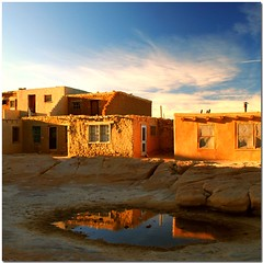Acoma light (jurek d.) Tags: light sunset newmexico reflection nativeamerican reflexions acoma americanindian 500k abigfave jurekd fotocyfer