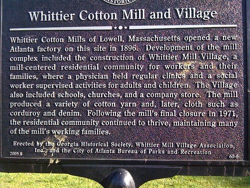 Whittier Cotton Mill and Village