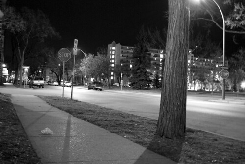 the street at midnight 1
