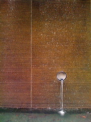The Source of All Good Things (carolinecohenour) Tags: california usa water fountain stone modern america photo minimal clean american simplicity lovelovelove minimalism spout sparkly minimalist shermanoaks iphone