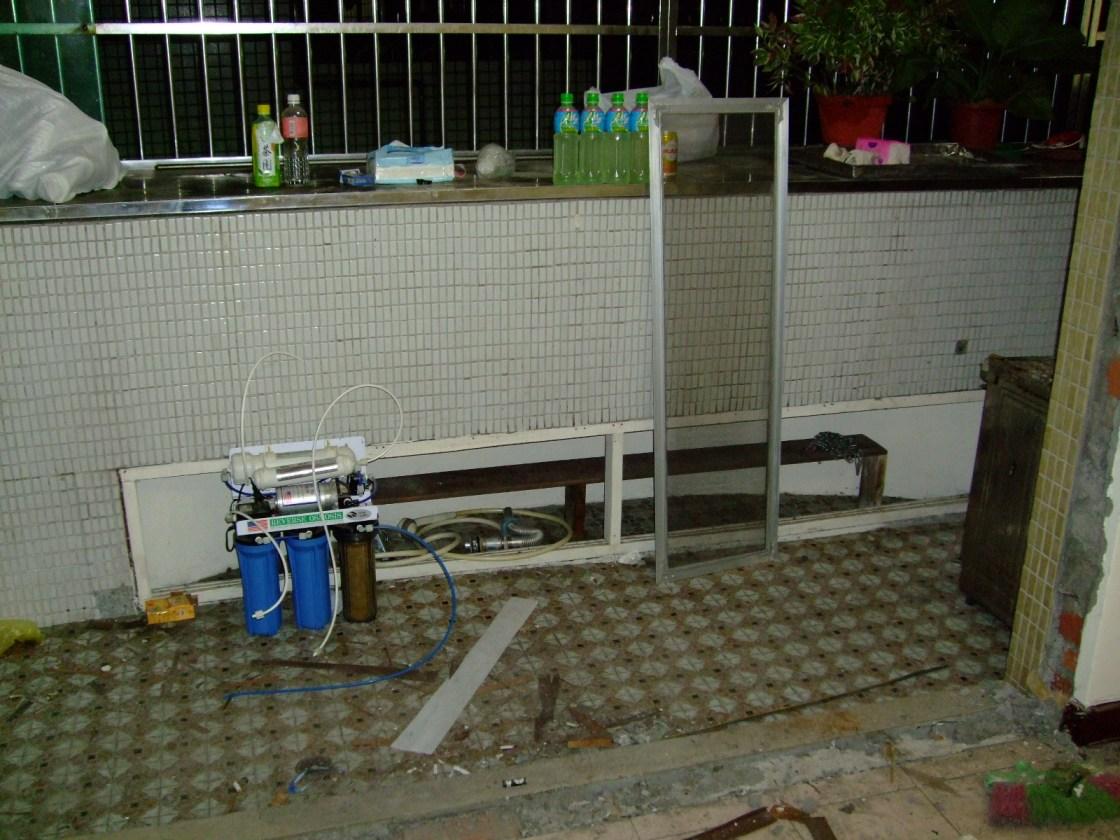 拆除中-前陽台