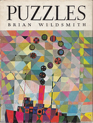 Puzzles by Brian Wildsmith (ouno design) Tags: art geometric kids illustration watercolor painting book design boat colorful ship child multicoloured smokestack cover questionmark watercolour childrens tugboat mast colourful steamboat multicolored technicolor puzzles oxforduniversitypress brianwildsmith