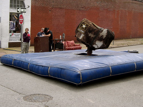 Bull Ride, before it got fun