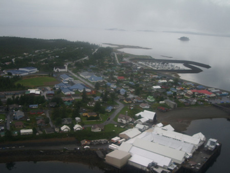 The R.J. Elementary and the Charles Leask Middle School on Annette Island