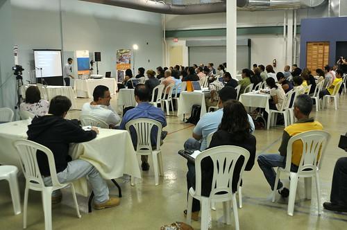 Vista del Prmer Encuentro Nacional de Blogueros