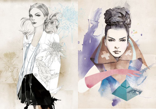 3517852819 2b63a3a725 o 30 Fashion Illustrators You Cant Miss Part 1