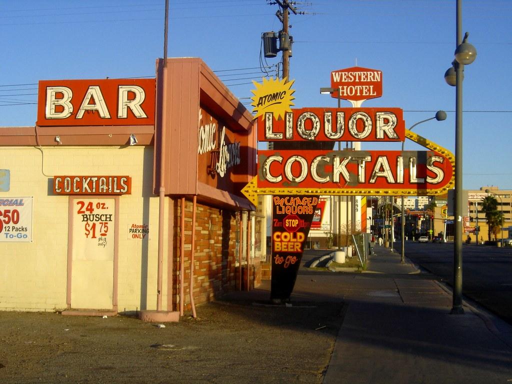Atomic Liquors Cocktails, 917 Fremont Ave E. Las Vegas