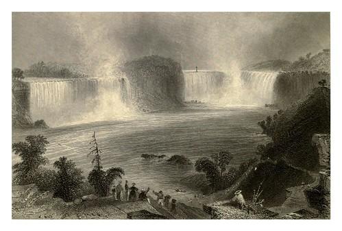 006-Cataratas del Niagara desde Clifton House 1840
