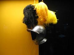 Un casque à plumes