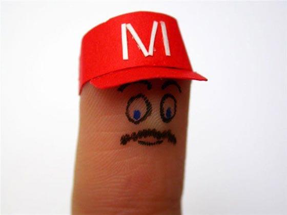 la vida de los dedos