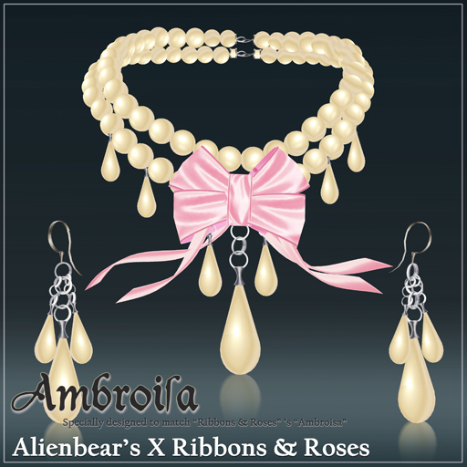 Ambroisa cream pearl pink
