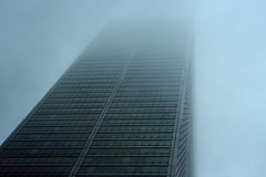 ghost tower (craig.dales) Tags: street toronto west tower rain fog court bay king commerce district bank financial craigdales