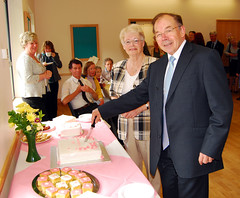 Minister, Meg and Cake