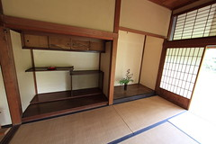 Japanese traditional style SAMURAI house / ( ) (TANAKA Juuyoh ()) Tags: old house architecture japanese design high ancient interior room traditional style hires tatami resolution  5d hi samurai residence res  markii   tokonoma