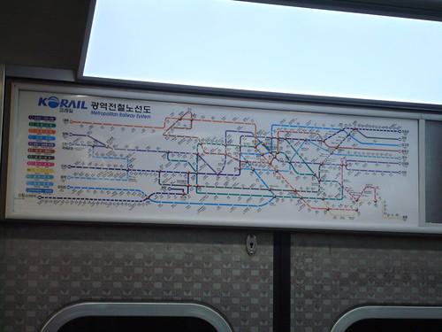 首爾地鐵線的複雜