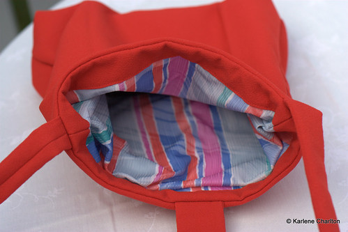 Inside bag
