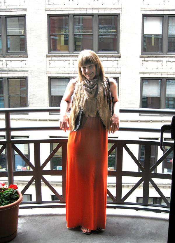 NYC balcony