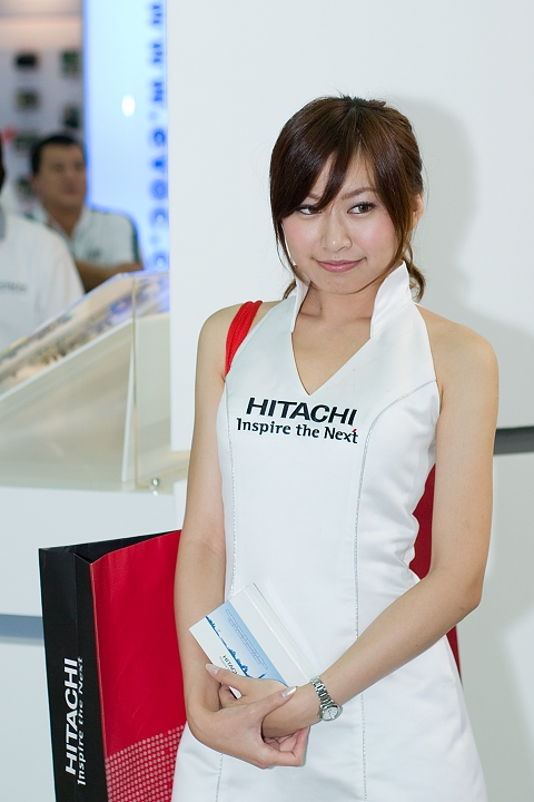 [Pentax-A 50mm F1.7] Hitachi Show Girl in Computex 2009