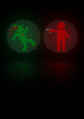 urban violence (Mihail Mihaylov) Tags: city red urban inspiration black green art colors strange monster modern illustration night project dark underground poster fun army fire grid grey idea design trafficlight graphicdesign big scary blood funny gun sad traffic graphic circles character great creative shapes free evil style objects dot minimal bulgaria difference hate devil murder violence pro beast a3 characters scared minimalism dots ideas autor minimalist autors artdirection internationaltypographicstyle mihata