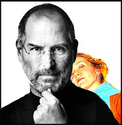 Dear Steve Jobs, And By The Way You're Still Sexy. Get Well Soon.