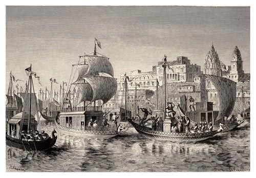026- El festival de Ganesa en Benares-La India en palabras e imágenes 1880-1881- © Universitätsbibliothek Heidelberg