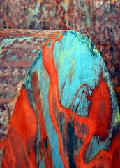 Fargespillet -|- The play of vibrant colours (erlingsi) Tags: abstract metal rust colours metall volda abstrakt farger jern scana erlingsi colorplay erlingsivertsen rustiness fargespill colourartaward voldabackstage abstrated ikulissne ikulissene