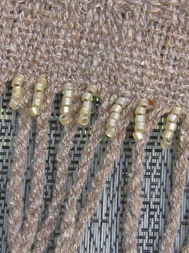 Beaded Fringe Closeup