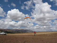 Nice skies Chincheros, Cusco