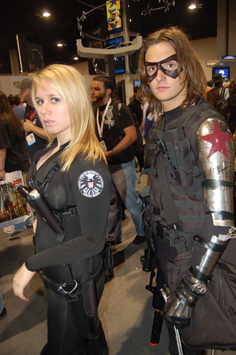 Comic Con 09: Sharon Carter and Winter Solider