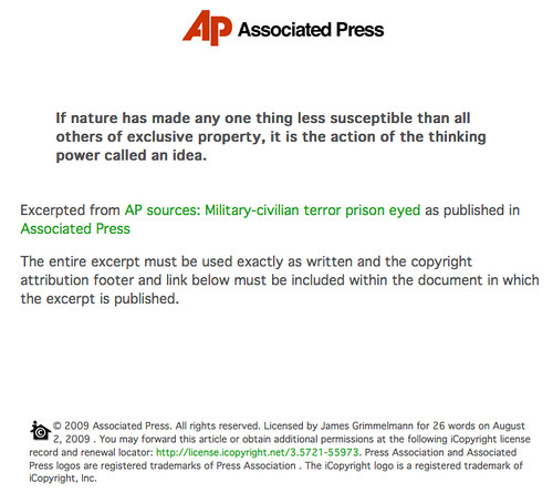 The AP Will Sell You a License to Words It Doesnt Own 3783346365 b25a0291bc