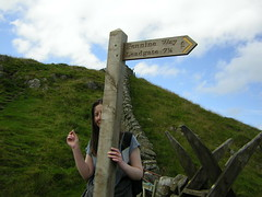 sign post for pennine way