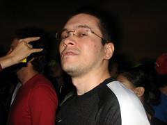 Nelsinho (laconics) Tags: show brazil brasil concert saopaulo sp radiohead nelsinho krafwerk justafest chacaradojockey