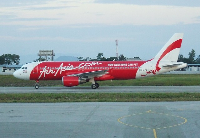 Air Asia 9M-AFZ in Kuching