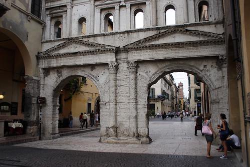 Porta Borsari in Verona