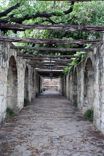 Alamo Walkway