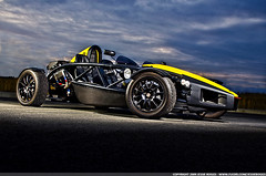 Ariel Atom (TVS Supercharged Ecotec) (Jessie Boggs) Tags: auto seattle cars car yellow lens washington tv nikon photographer flash go young fast automotive cart amateur atom beginner strobe digest supercharged d90 ecotec lsj 18135mm strobist