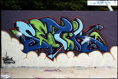 Setik01 (Setik01) Tags: urban streetart art graffiti design sketch paint tag touch twin marker hiphop uni piece blackbook boks fatcap posca setik