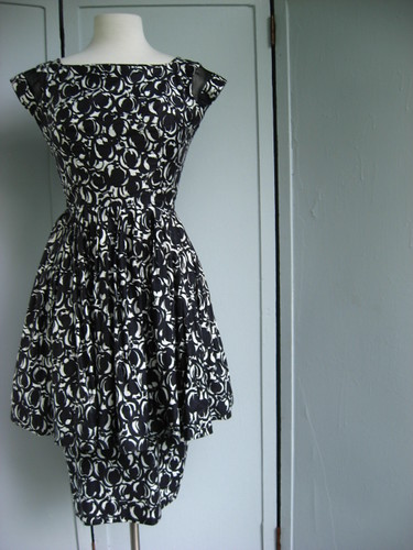 tiered skirt party dress