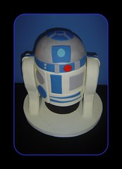 R2D2 Cake 2 (It's All About the Cake) Tags: birthday cake starwars r2d2 fondant