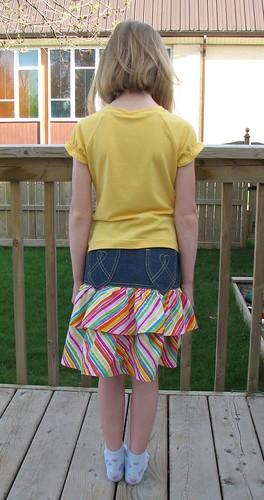 Ottobre 1/2011 Denim Skirt